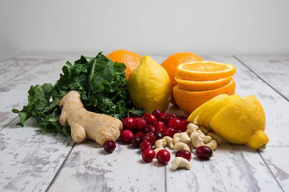 Je bunter, desto besser- Obst, Gemüse und Gewürze helfen der Immunabwehr.