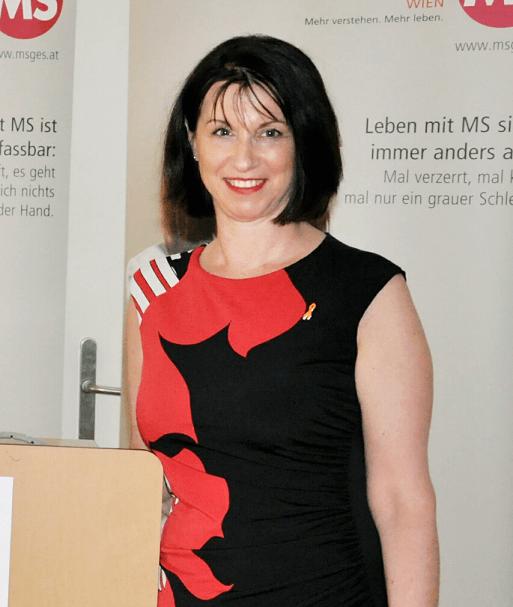 Karin Krainz-Kabas, Geschäftsführung der MS-Gesellschaft Wien