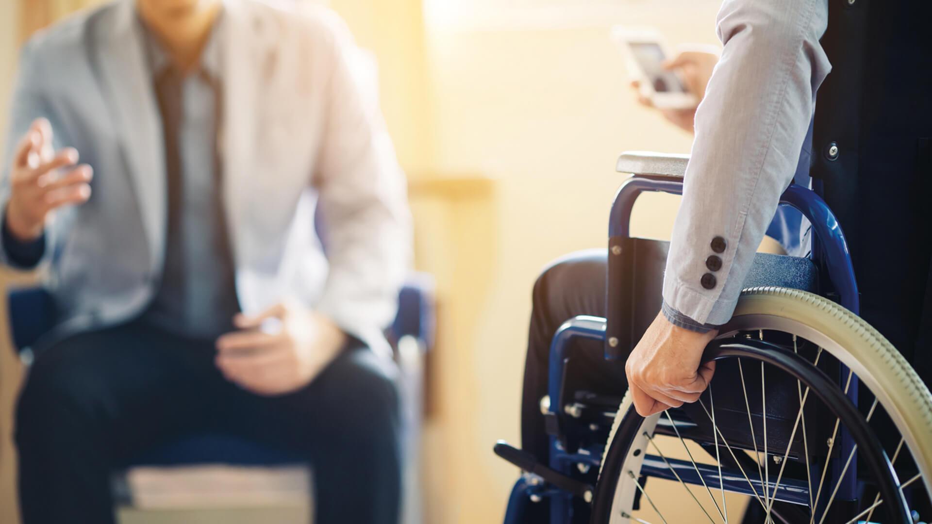 Multiple Sklerose: Endstation Frühpension?