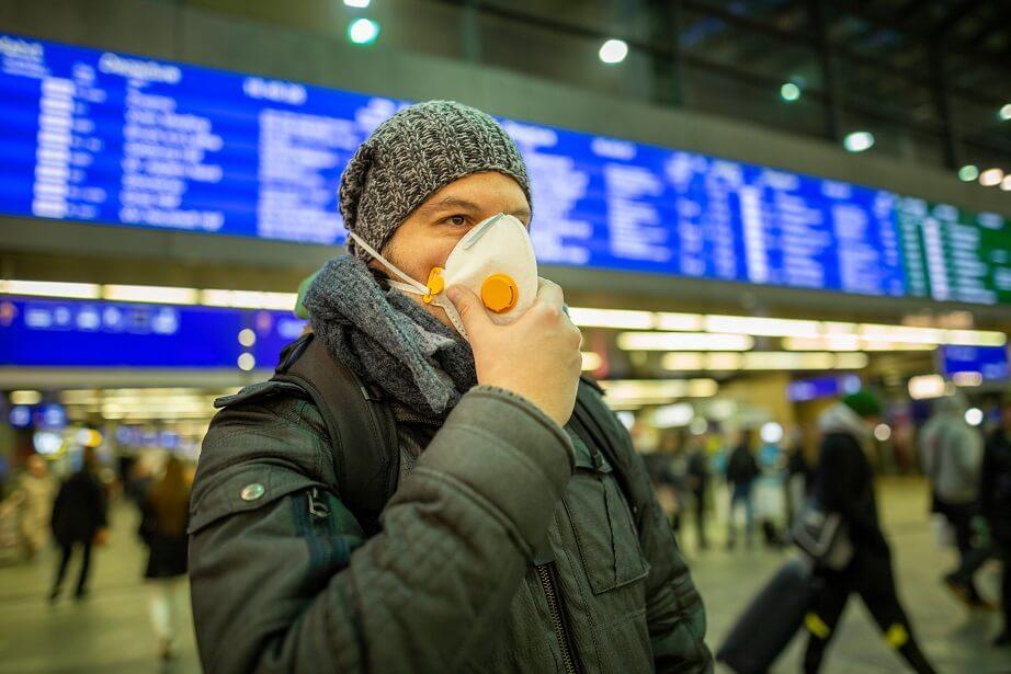 Mundschutzmasken helfen beim Coronavirus nur bedingt